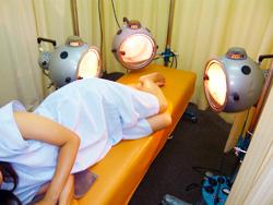 当院の光線治療